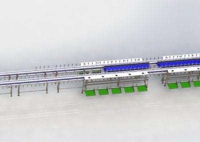 Cone/Trussing Line Conveyor
