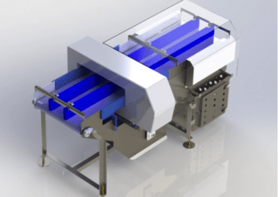 Metal Detector Conveyor with Reject